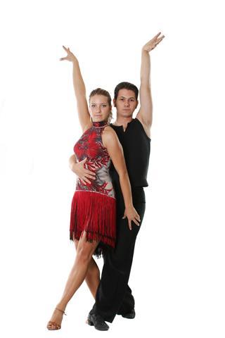 Latin Dancing Couple