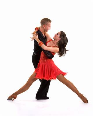 Ballroom Dancers Latin