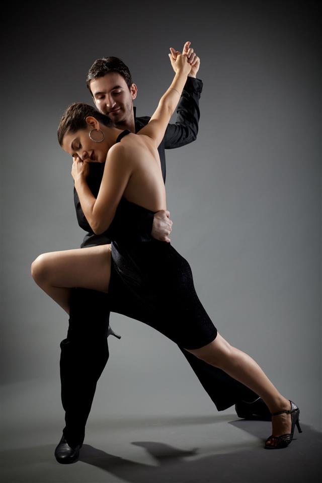 Tango Couple Dancing