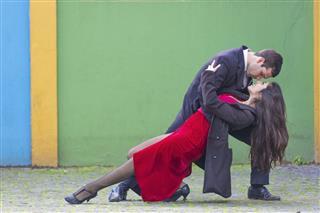 Tangoing Couple