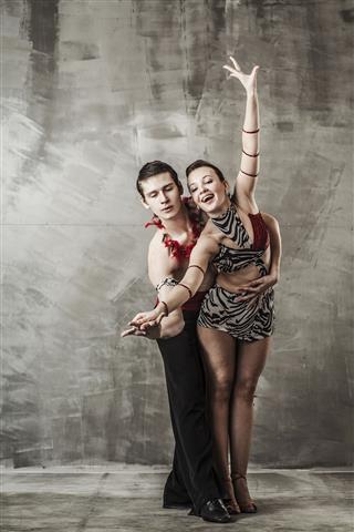 Couple Dancing Ballroom Dancing