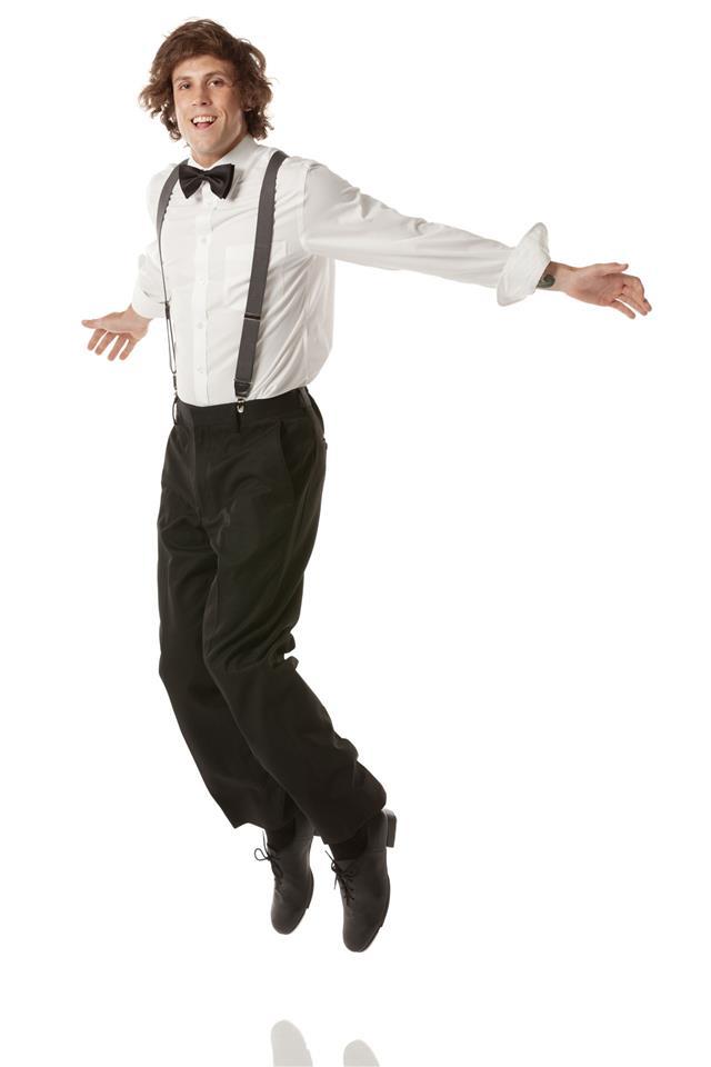 Tap Dancer Jumping