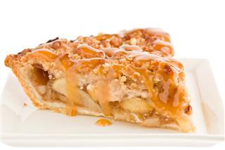 Caramel Dutch Apple Pie