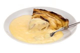 Apple Pie And Custard