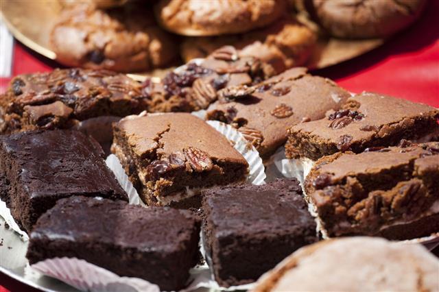 Fresh Baked Cookies Brownies