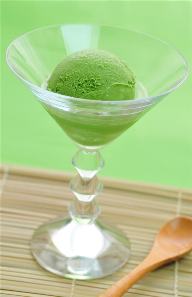 Maccha Tea Ice Cream