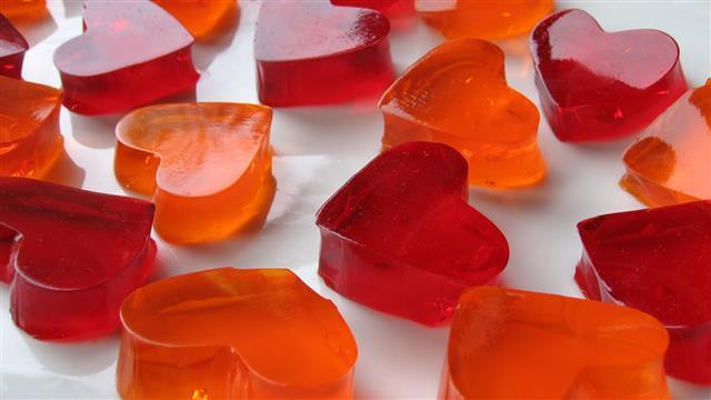 Heart Shaped Jello