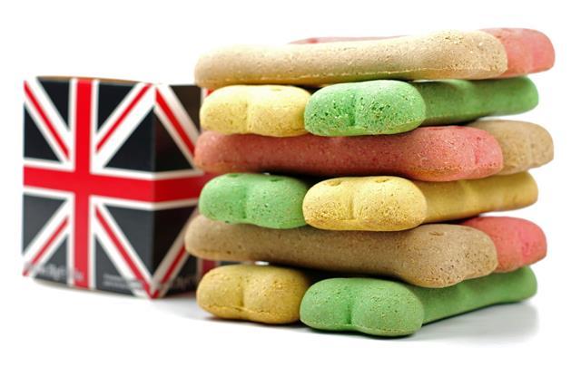 British Box And Dog Biscuits