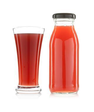 Pomegranate Juice In A Glass