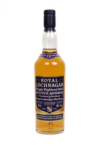 Royal Lochnagar Single Highland Malt Whisky