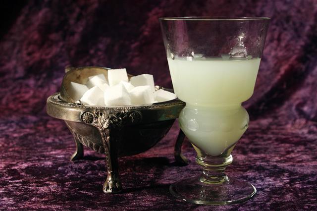 Absinthe And Sugar