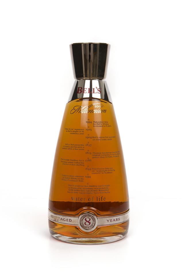 Bottle Of Bells Millennium Scotch Whisky