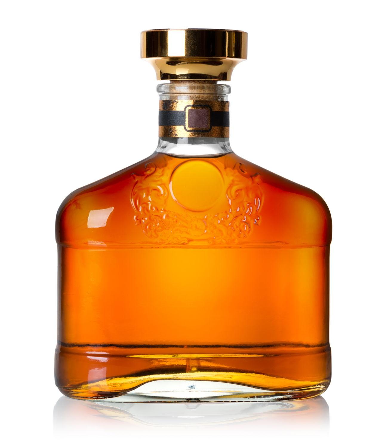A bottle of cognac - 2 7