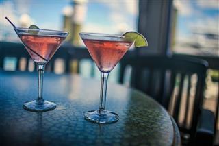 Cosmopolitan Martinis