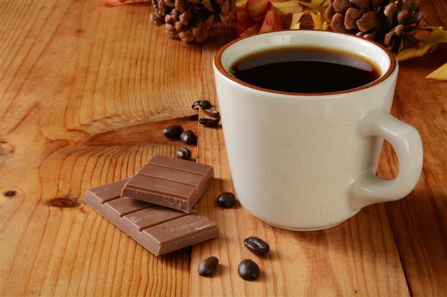 Milk Chocolate And Coffee