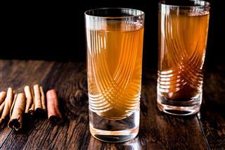 Tamarind Juice With Cinnamon Sticks