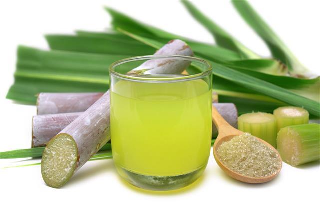 Fresh Squeezed Sugarcane Juice