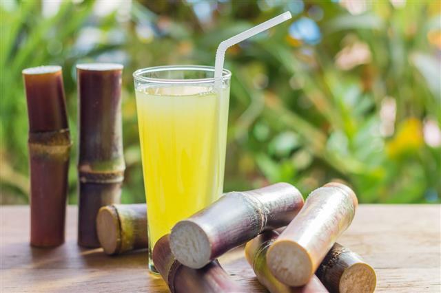 Sugarcane Fresh Juice For Detox Diet