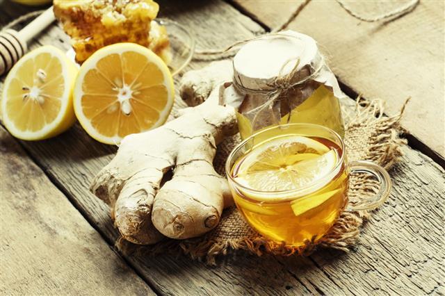 Tea With Orange And Honey