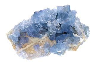 Fluorite Blue Sky