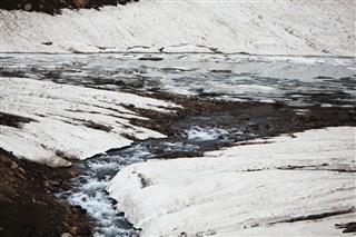 Natural Tundra Lake Kashmir