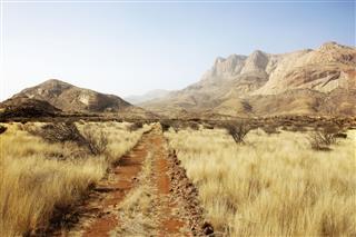 Steppe Erongo Mountains