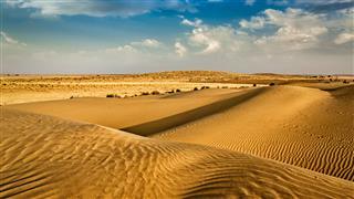 Dunes Of Thar Desert Rajasthan