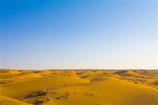 Sand Dunes In The Maranjab Desert