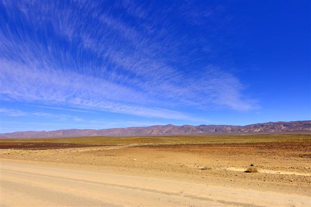 Karoo Landscape Clouds