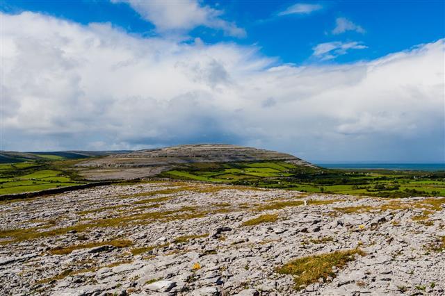 Burren Landscape County Clare Ireland