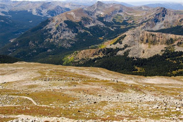 Tundra And Alpine Scenery