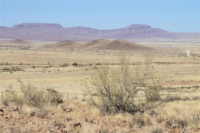 Steppe Namib Namibia