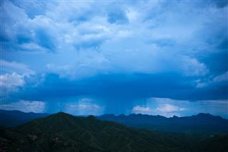 Nimbus In Dramatic Sky