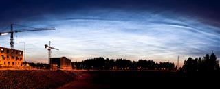 Noctilucent Clouds Glowing