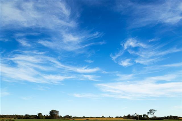 Wispy Cirrus Clouds
