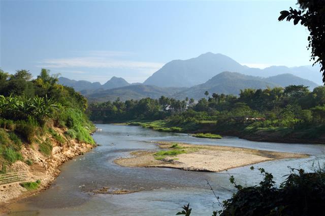 Wild River In Luang Prabang