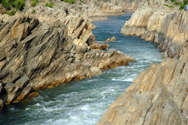 Narmada River India