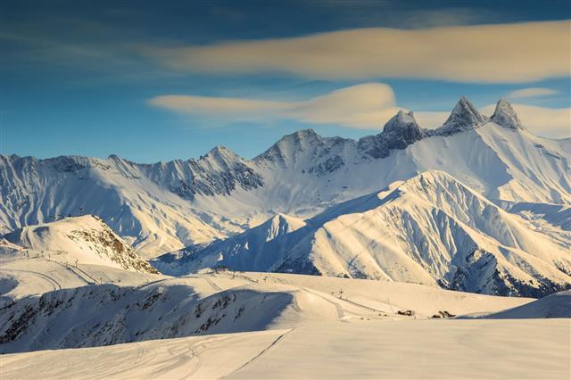 Famous Ski Resort