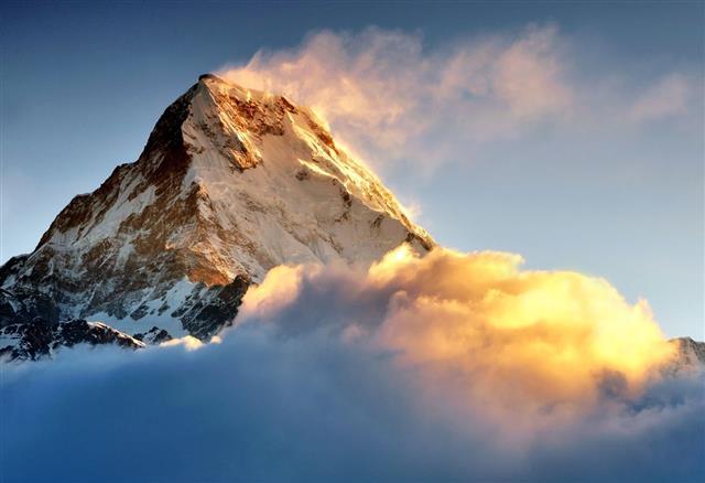 Sunrise In Himalaya
