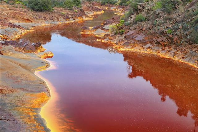 Tinto River Huelva Spain