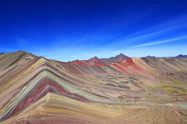 Mountain Panorama Peru