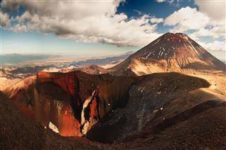 Mt Ngauruhoe Panorama