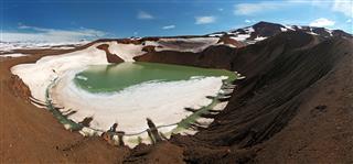 Volcano Krafla Iceland