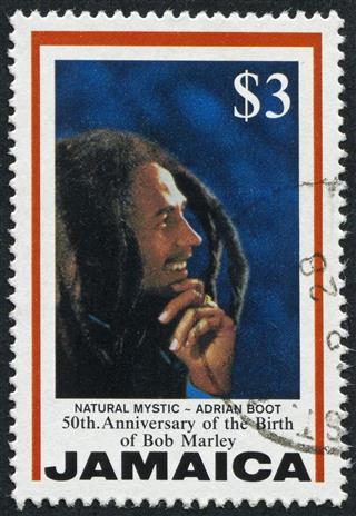 Bob Marley Stamp