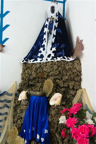 Santeria Altar Trinidad Cuba