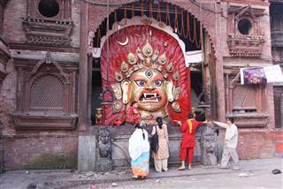 Durbar Square In Kathmandu Nepal