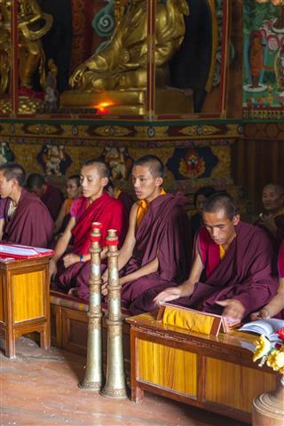 Prayers In Kathmandu