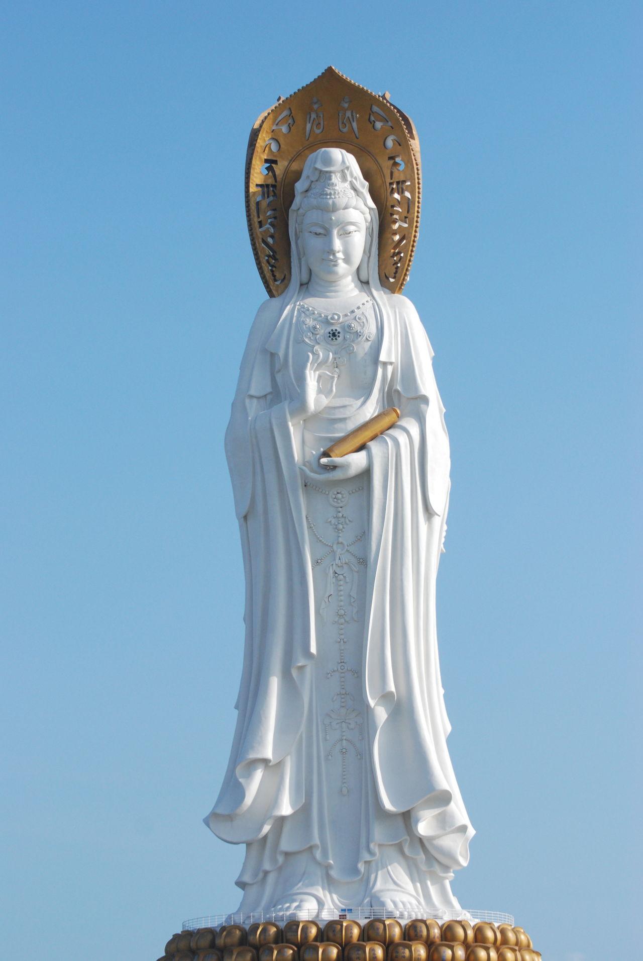 Buddhist mudras kwan in statue biocorpaavc Choice Image
