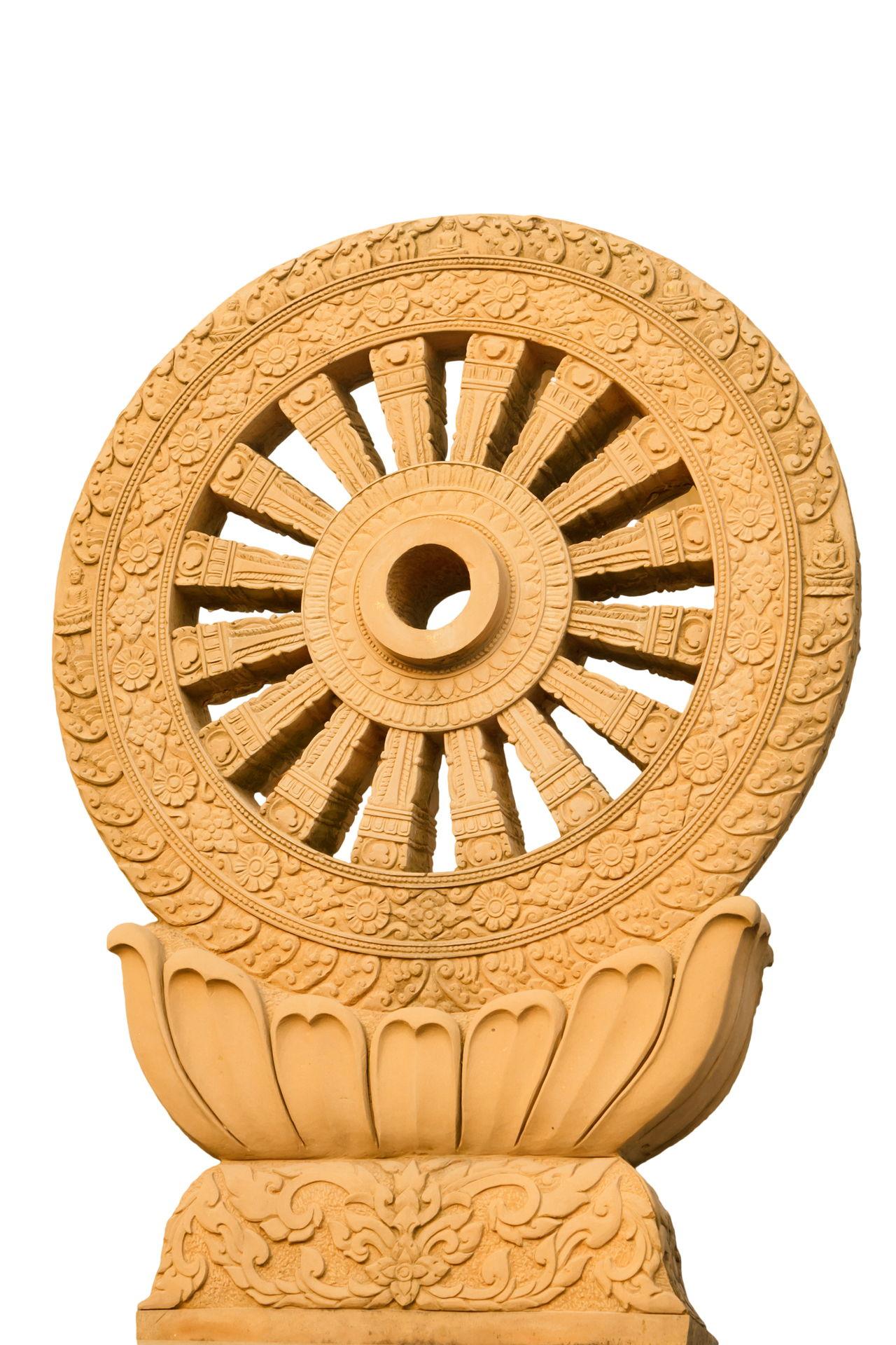 Learn Here What A Dharma Wheel Dharmachakra Means