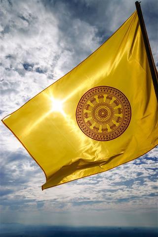 The Dharmachakra Flag